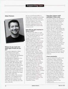 Interview of Albert Romero